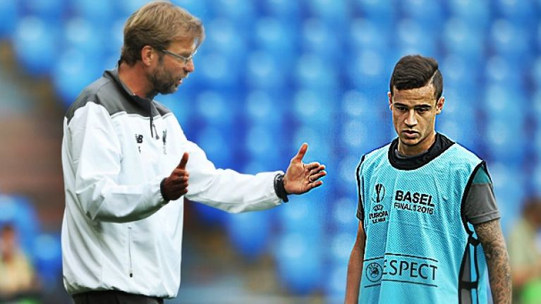 Many claim this Philippe Coutinho tweet proves he has been using Liverpool all along