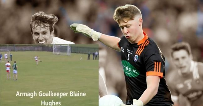 WATCH: Armagh goalkeeper turns outfield saviour in remarkable club game