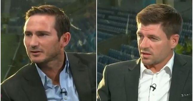 Frank Lampard and Steven Gerrard Condemn Manchester City star for harsh tweet