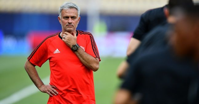 Jose Mourinho names his first Manchester United XI of the Premier League season