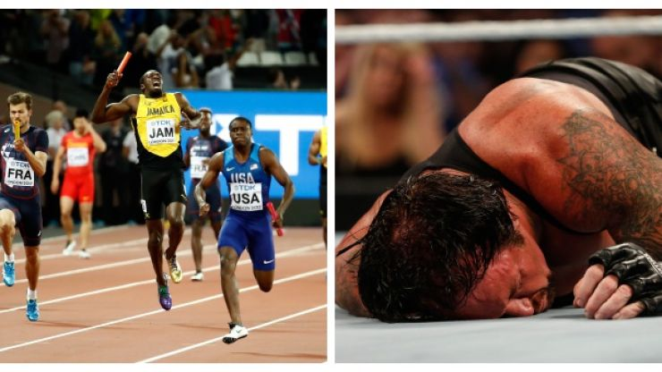 Usain Bolt took inspiration from long standing tradition in WWE as he bowed out from athletics