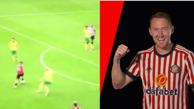 You're going to want to see the screamer Aiden McGeady scored for Sunderland