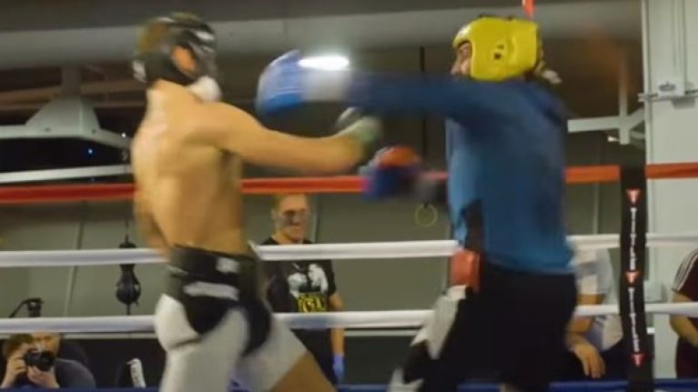 It's impossible to ignore how Conor McGregor looks in new sparring footage leak