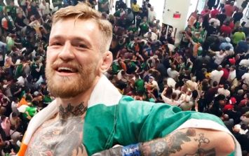 WATCH: Joyous scenes as Irish fans stage massive, impromptu party at McGregor weigh-in