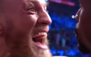 Here's exactly what Conor McGregor said during intense staredown