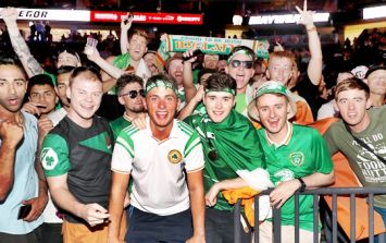 You'll never beat the Irish... at one thing anyway