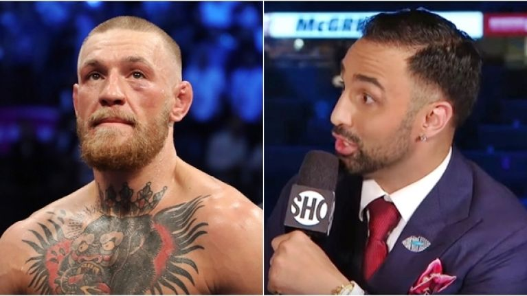 Paulie Malignaggi's lack of respect for MMA ended remarkably quickly