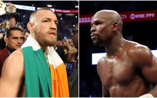 Floyd Mayweather responds to Conor McGregor's claim that the fight was stopped too soon