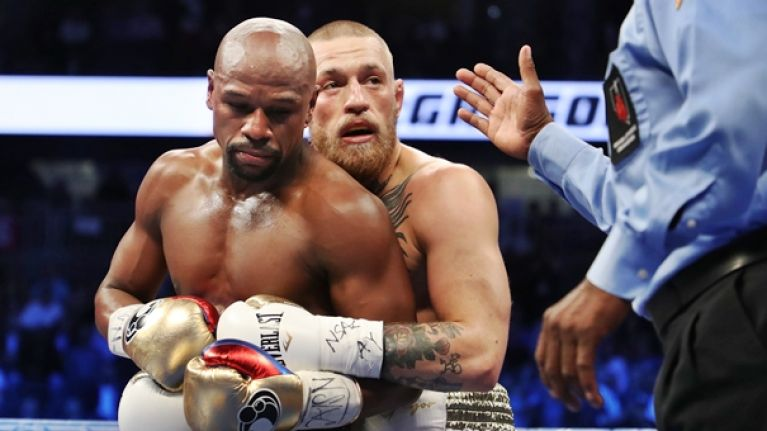 Floyd Mayweather's reported pre-fight bet was eerily accurate