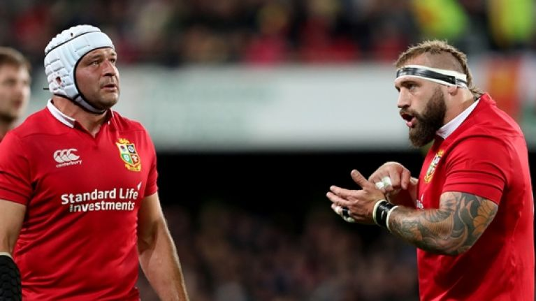 Rory Best being blamed for Lions star's stocious phonecalls with wife