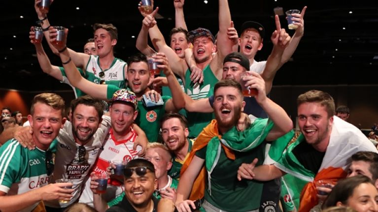 There's going to be an Irish fan zone for McGregor v Mayweather