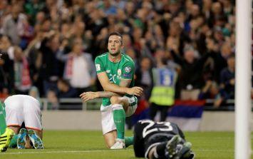 Ireland lost their spirit when Serbia scored and their intelligence when Wes was taken off