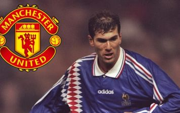 Ex-Manchester United chairman explains why the club didn't sign Zinedine Zidane