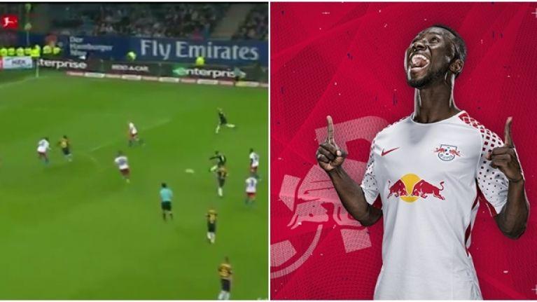 Liverpool fans delirious as Naby Keita scores 25-yard screamer