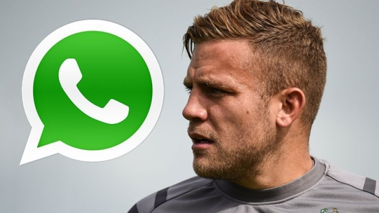 Every rugby player will relate to Ian Madigan being bombarded by his manager on WhatsApp