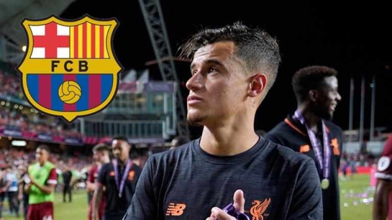 Liverpool reportedly named their price for Philippe Coutinho on deadline day