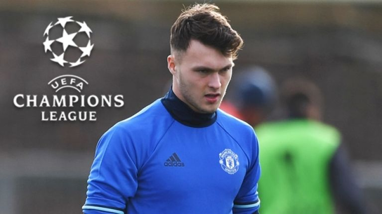 Ireland youngster added to Manchester United's Champions League squad
