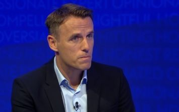 Phil Neville rinsed for comment about Uruguay's World Cup chances