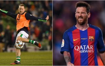 Lionel Messi is not as skilful as Aiden McGeady in Fifa 18