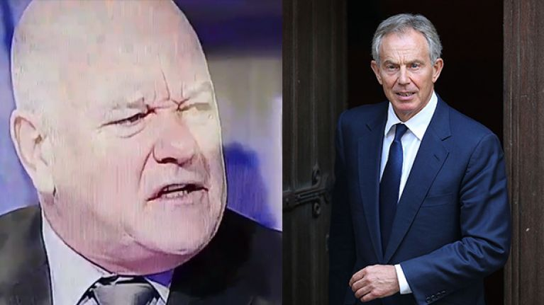 WATCH: Andy Gray, bless him, got himself a bit muddled while talking about Tony Blair