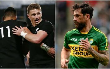 Paul Galvin was not the only person in awe of Beauden Barrett's jaw-dropping skill