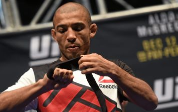 Jose Aldo accepts risky return bout