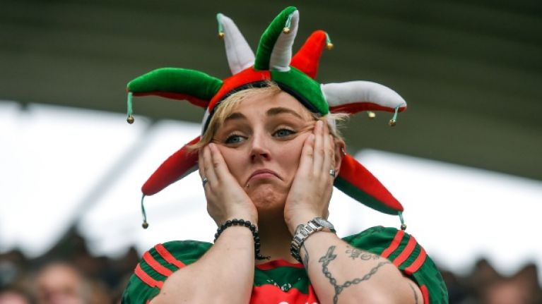 The five stages of grief Mayo fans will suffer during the week of the All-Ireland final