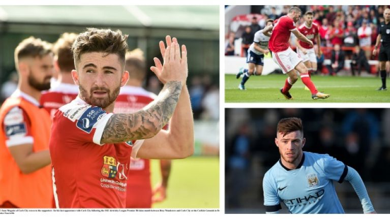 It was some night for Irish footballers over in England