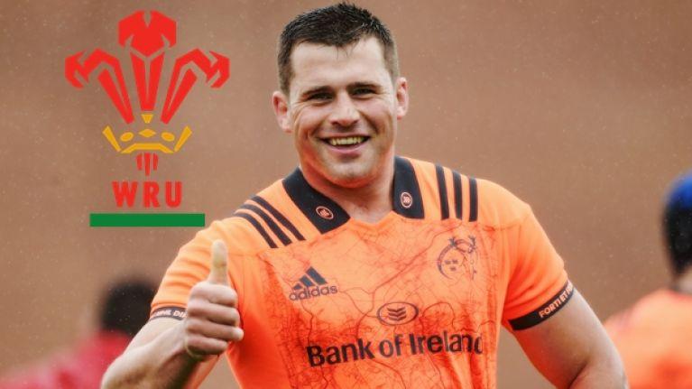 Munster snap up top Welsh prospect James McCarthy