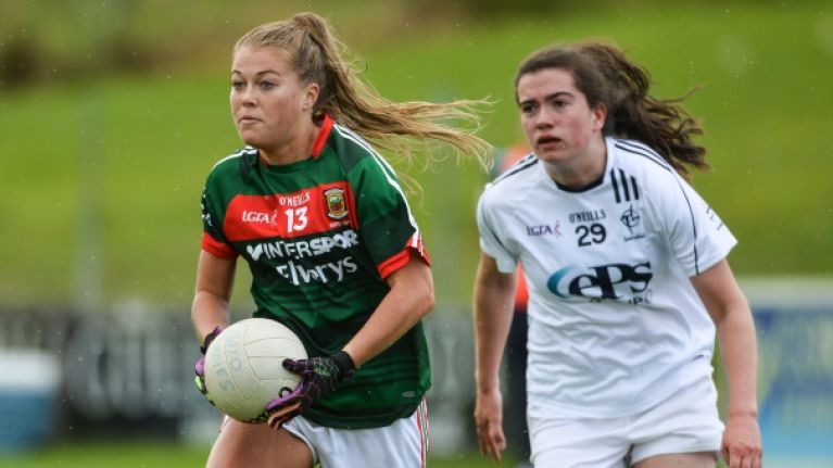 Mayo ladies star hits the nail on the head over difference in men and women GAA