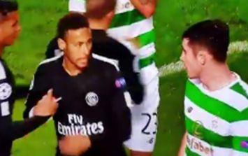 Neymar made up for Tony Ralston snub with class gesture