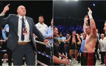 Tyson Fury loses it following cousin's world title defeat