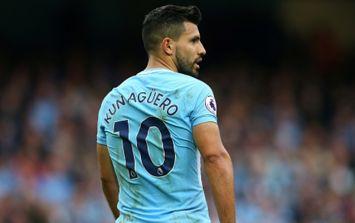Manchester City striker Sergio Aguero has been injured in a car crash