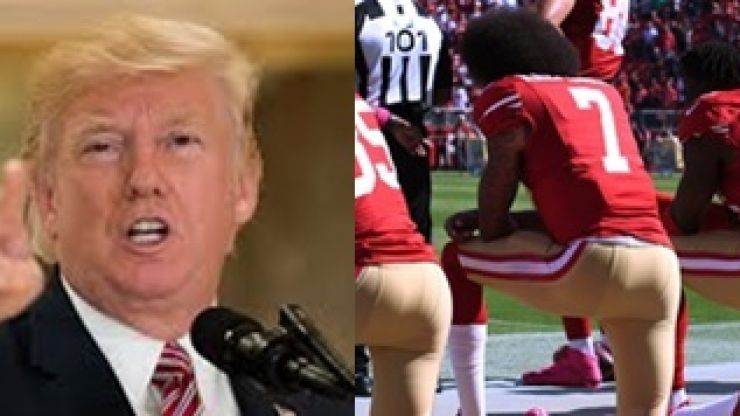 "Donald Trump labels NFL player ""son of a bitch"""