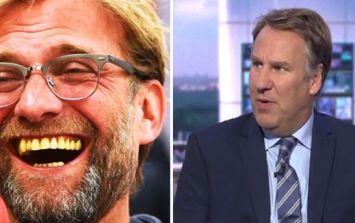 Paul Merson's view on Jurgen Klopp to Bayern Munich rumour is getting destroyed