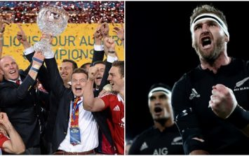 Here is our British & Irish Lions XV...if we had to play the All Blacks tomorrow