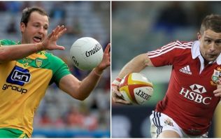 Former Lions star Shane Williams may regret setting himself this Donegal football challenge