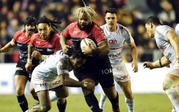 WATCH: Mathieu Bastareaud gives us a terrifying reminder of how much of an absolute beast he is