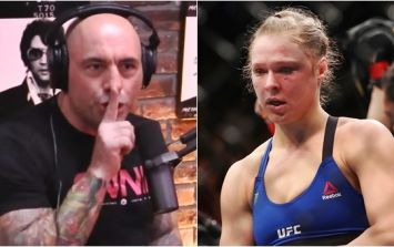 WATCH: Joe Rogan's commentary on replay of Ronda Rousey fight is spot on