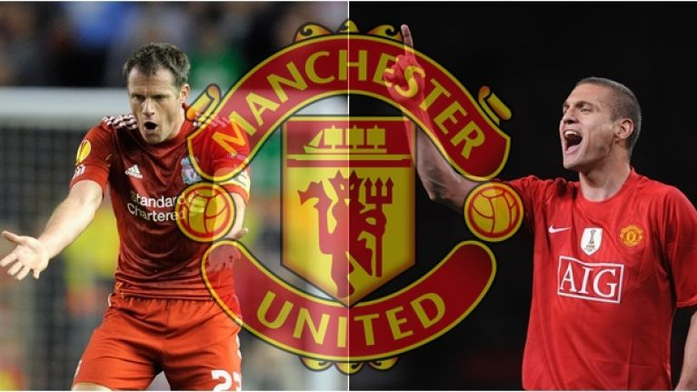 Nemanja Vidic and Jamie Carragher are in complete agreement on Manchester United's title chances
