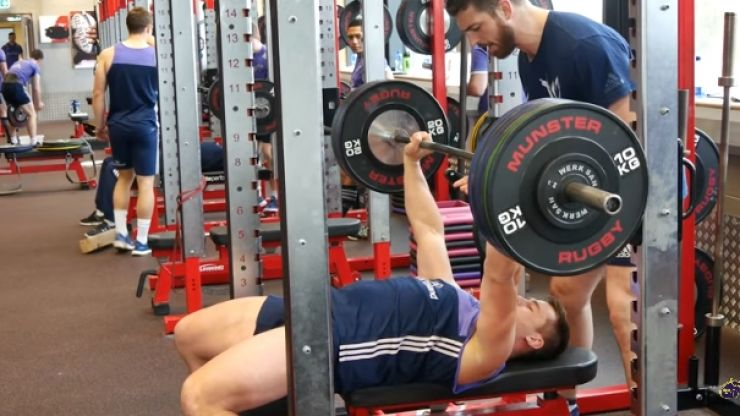 WATCH: Munster are not easing up one bit judging by their latest gym sessions