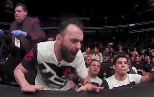 WATCH: Incredible, bone-chilling footage of Ronda Rousey's coach as she was dismantled