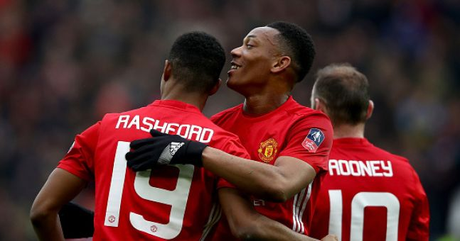 Marcus Rashford gets the nod in Manchester United's EFL Cup semi-final line-up