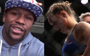 WATCH: Floyd Mayweather gives Ronda Rousey the exact message she needs to hear right now