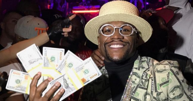 Floyd Mayweather reveals the figure he's offering Conor McGregor for super-fight