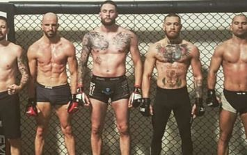 Conor McGregor's team reacts to news of interim lightweight title fight