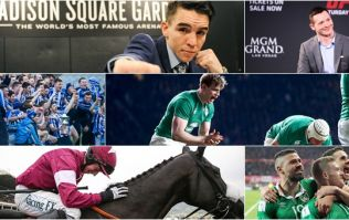 Irish sports fans, prepare yourselves for the greatest sports week of 2017