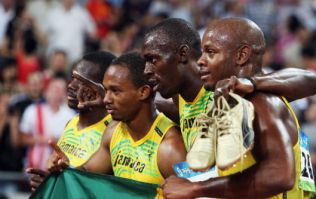 Usain Bolt has lost an Olympic medal