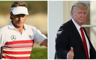 Donald Trump told a bizarre story about Bernhard Langer, which the German golfer totally denies
