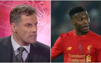 Liverpool fans fully agreed with Jamie Carragher's strong criticism of Daniel Sturridge